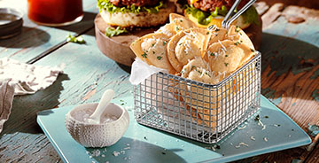 Parmesan Mini Pierogy Fries
