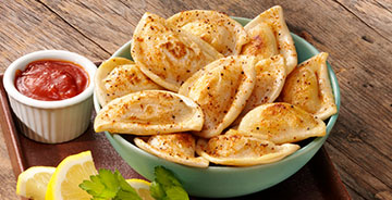Maryland-Style Mini Pierogy Dippers