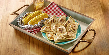 Grilled Pierogies