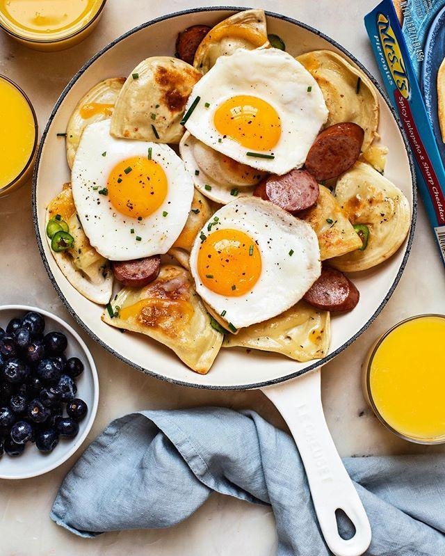 @thedaleyplate - Pierogy Breakfast Platter
